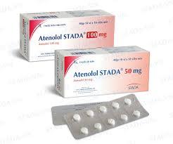 ATENOLOL Thuốc chống tăng huyết áp thuộc loại chẹn chọn lọc trên thụ thể giao cảm beta - 1 (2)
