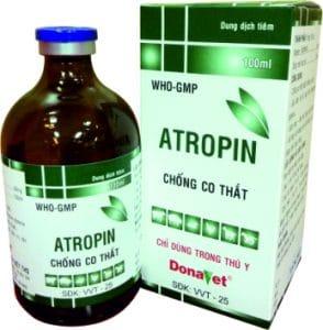 ATROPIN Thuốc kháng acetyl cholin (ức chế đối giao cảm) (2)
