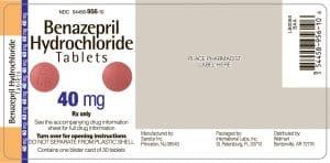 BENAZEPRIL Thuốc điều trị tăng huyết áp (2)