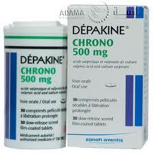 DÉPAKINE CHRONO thuốc gì Công dụng và giá thuốc DÉPAKINE CHRONO (1)