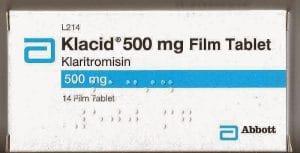 KLACID thuốc gì Công dụng và giá thuốc KLACID (3)