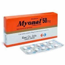 MYONAL thuốc gì Công dụng và giá thuốc MYONAL (2)