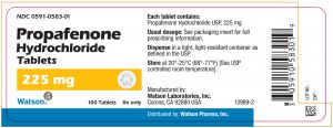 PROPAFENONE thuốc chống loạn nhịp (2)