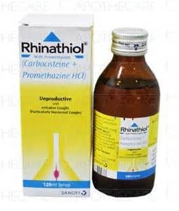 RHINATHIOL Promethazine thuốc gì Công dụng và giá thuốc RHINATHIOL Promethazine (2)