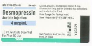 VASOPRESSIN (CÁC VASOPRESSIN) Hormon chống bài niệu (2)