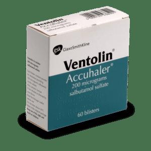VENTOLIN thuốc gì Công dụng và giá thuốc VENTOLIN