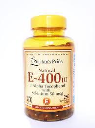 VITAMIN E (ALPHATOCOPHEROL) Dùng để điều trị và phòng thiếu vitamin E (1)
