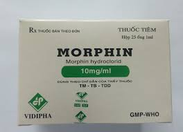 MORPHINThuốc giảm đau gây ngủ
