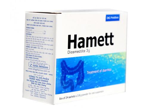 Thuốc Hamett tác dụng, liều dùng, giá bao nhiêu?